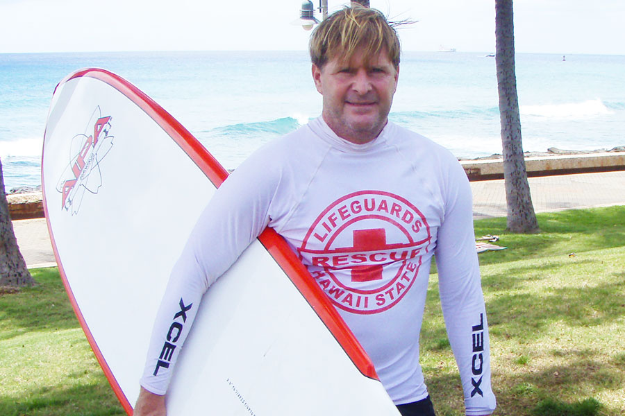 Dr Steven Andrew Martin - Hawaiian Handfins - Bodysurf Team - Hawaii Lifeguard