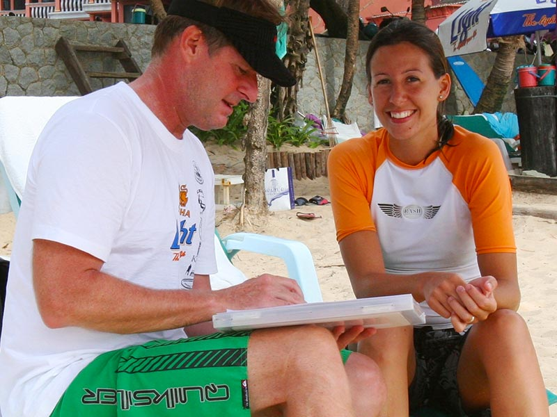 Hawaiian Handfins Environmental Research - Surf Site Conservation - Dr Steven Andrew Martin
