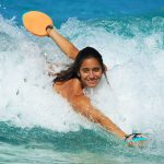 Welcome Hawaiian Handfins Girls Bodysurfing Team - Hawaii Handboards