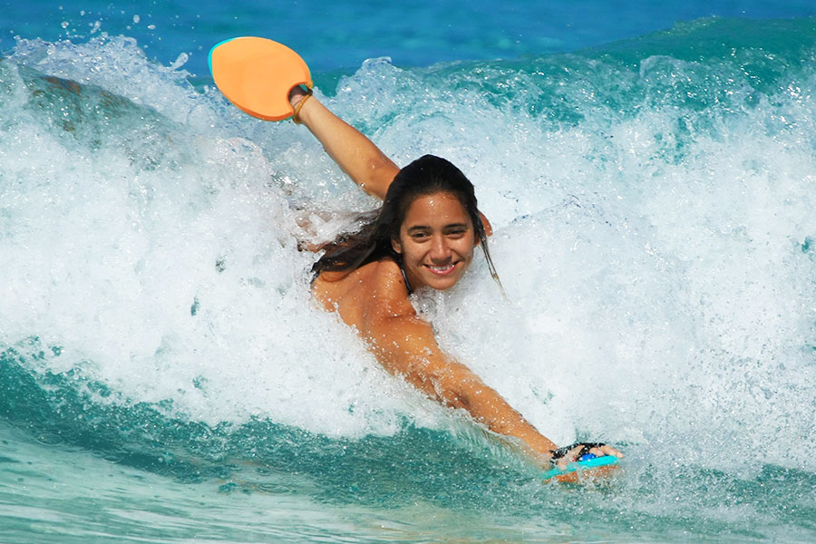 Hawaiian Handfins Swimming and Bodysurfing Evolution - Order Today