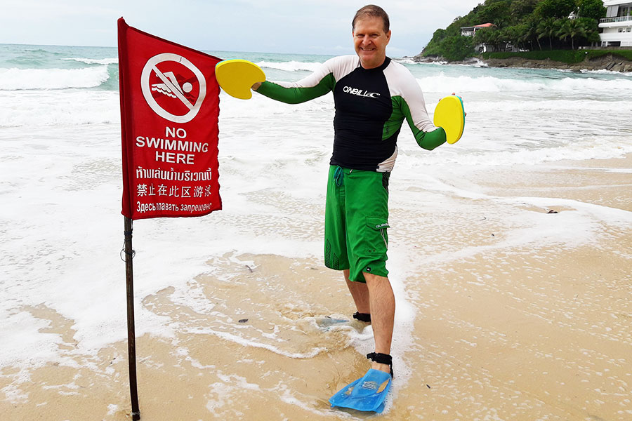 Dr Steven Andrew Martin - Hawaiian Handfins Environmental - Surf Site Conservation - Swimming and Bodysurfing